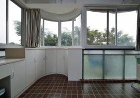 现代弧形阳台设计