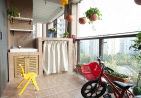 现代传统阳台设计