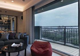 现代铁艺阳台设计