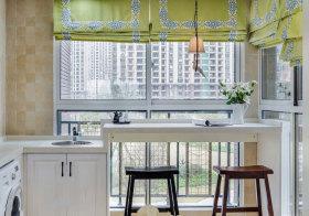简美吧台阳台设计