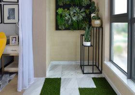 简约植物阳台效果图