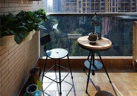 混搭简洁阳台欣赏