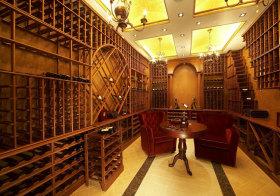 美式大气酒柜设计