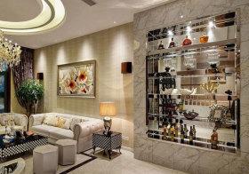 欧式大理石酒柜设计