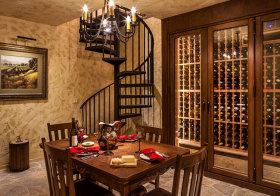 美式复古酒柜欣赏