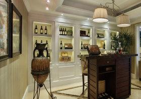 美式精致酒柜设计