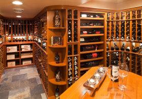美式弧形酒柜欣赏