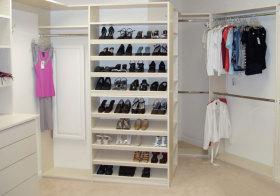 现代白色鞋柜欣赏