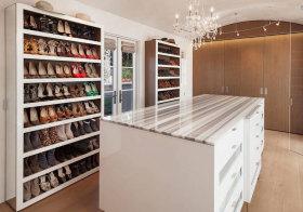混搭拱形鞋柜欣赏