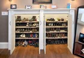 美式可爱鞋柜欣赏
