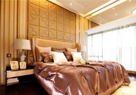 欧式印花床头软包设计
