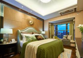 东南亚太阳床头软包美图