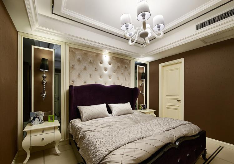 欧式经典床头软包设计