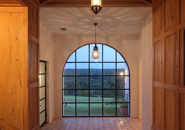 欧式拱形门头浮雕