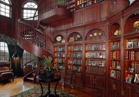 美式旋转书柜欣赏