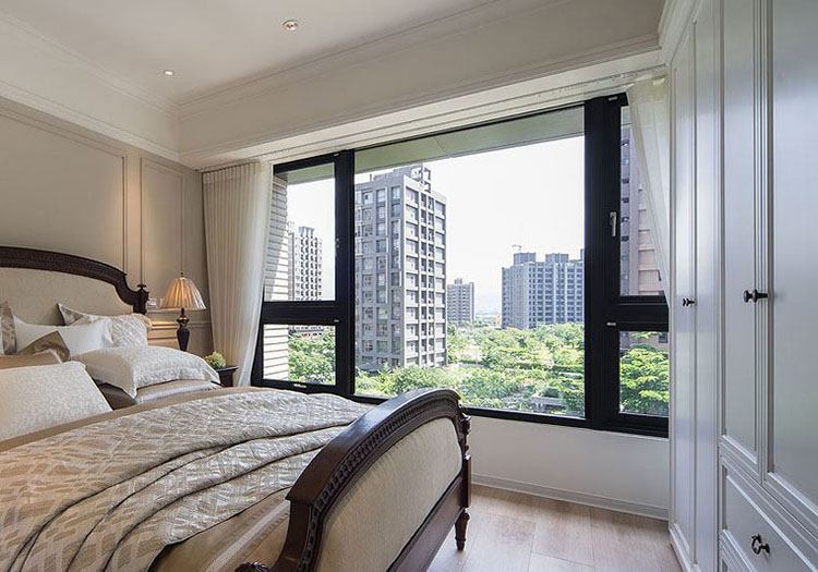 欧式公寓窗户实景