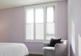 简美紫色窗户美图