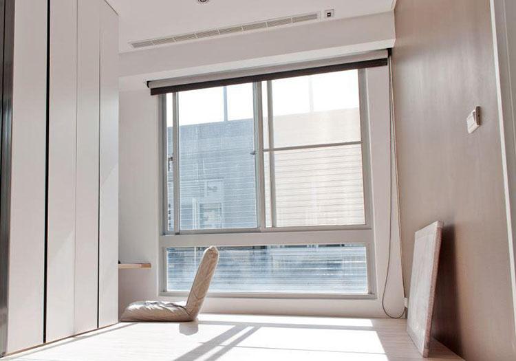 现代榻榻米窗户实景