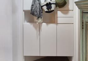 简约简洁鞋柜细节