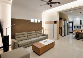 宜家原木客厅设计