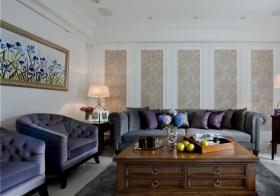 美式复古客厅细节
