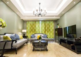 东南亚高贵客厅设计