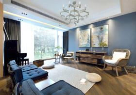 新中式文艺客厅美图