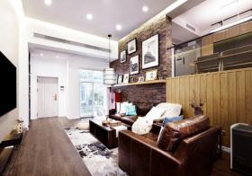 混搭红砖客厅设计