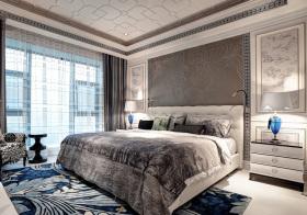 欧式浮雕卧室欣赏