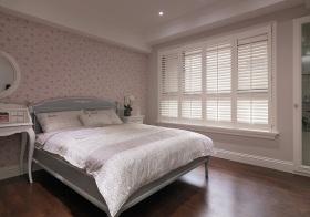 欧式粉嫩卧室实景