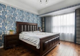 美式蓝叶卧室美图