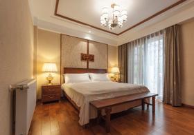 新中式精美卧室欣赏