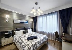 现代素色卧室欣赏