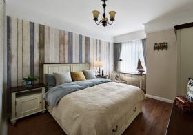 混搭仿旧卧室设计