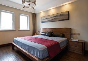 日系木床卧室设计