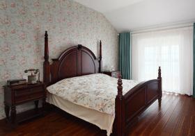 美式阁楼卧室欣赏