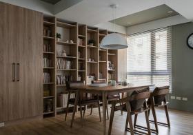 宜家原木色餐厅设计