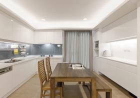 现代极简餐厅设计