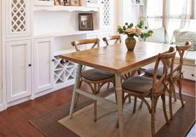 欧式木质餐厅细节