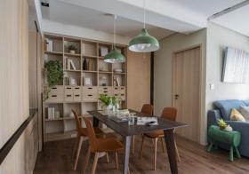 简约原木餐厅设计欣赏
