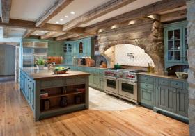 美式森系厨房美图