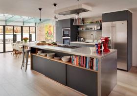 美式岛型厨房设计