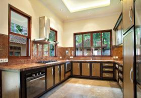 混搭大型厨房设计