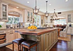 美式复古厨房美图