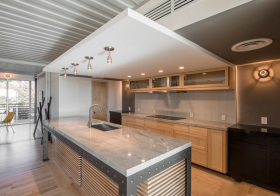 混搭现代化厨房设计