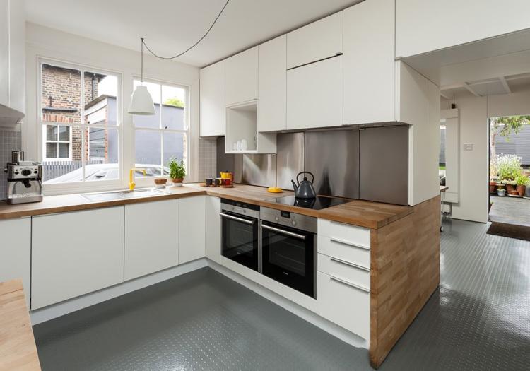 简美小厨房设计