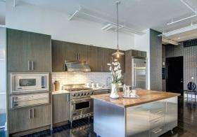 轻工业金属厨房设计