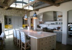 美式森林厨房实景