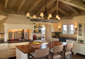 美式阁楼厨房实景