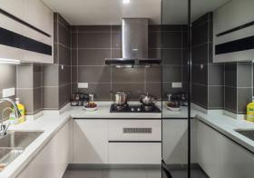 现代简洁厨房细节